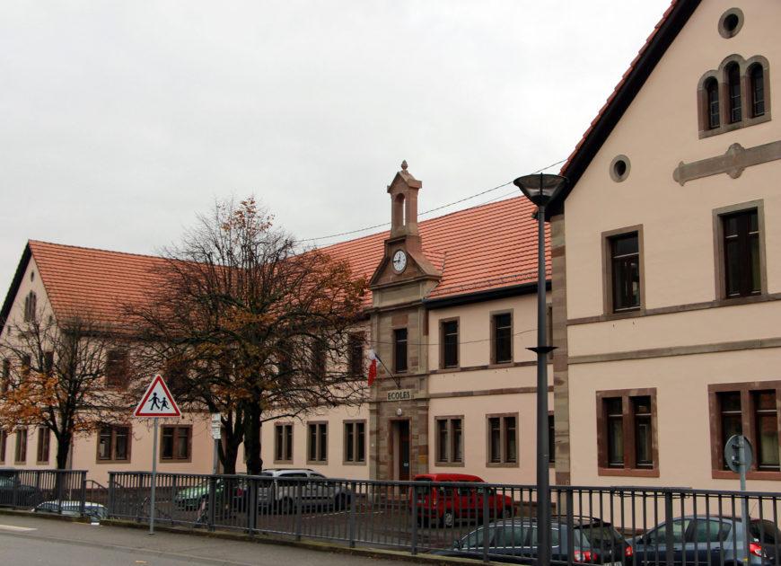 Rentrée scolaire à l'école élémentaire Krafft
