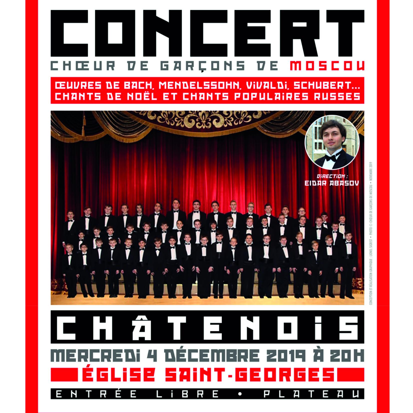 Concert choeur moscou