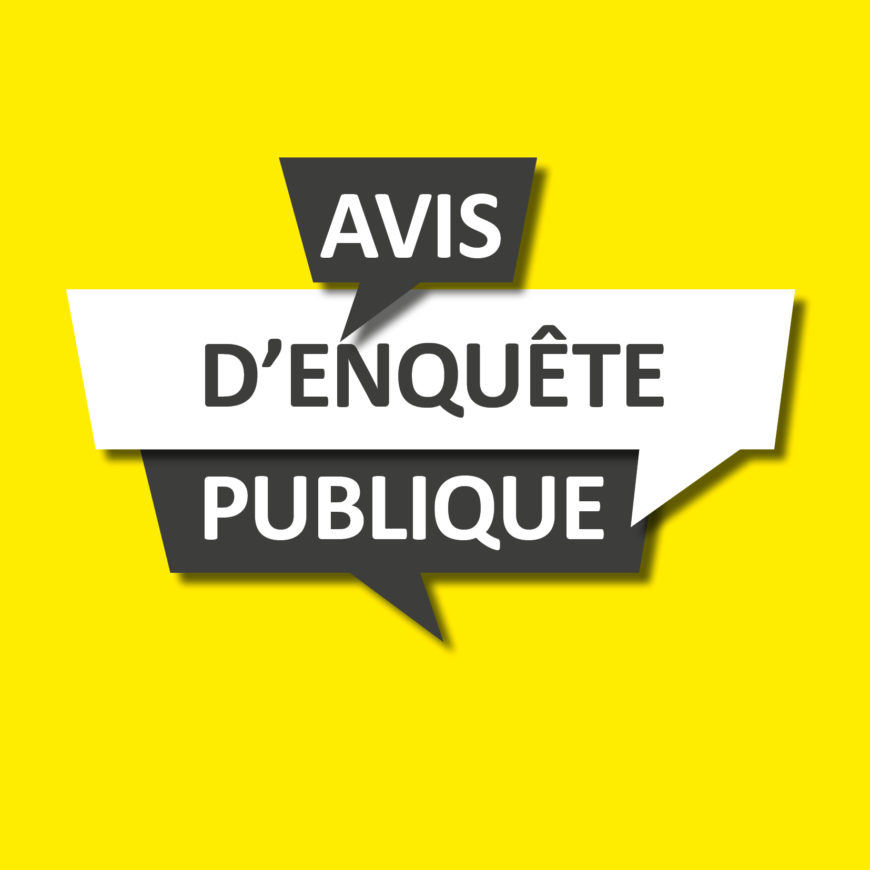 Enquête publique – Plan local d'urbanisme – Modification n°2