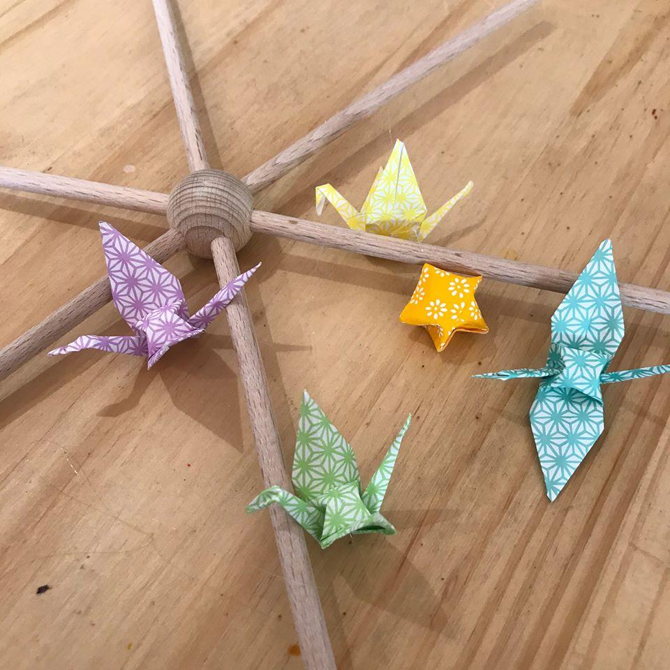 FSC mobile origami