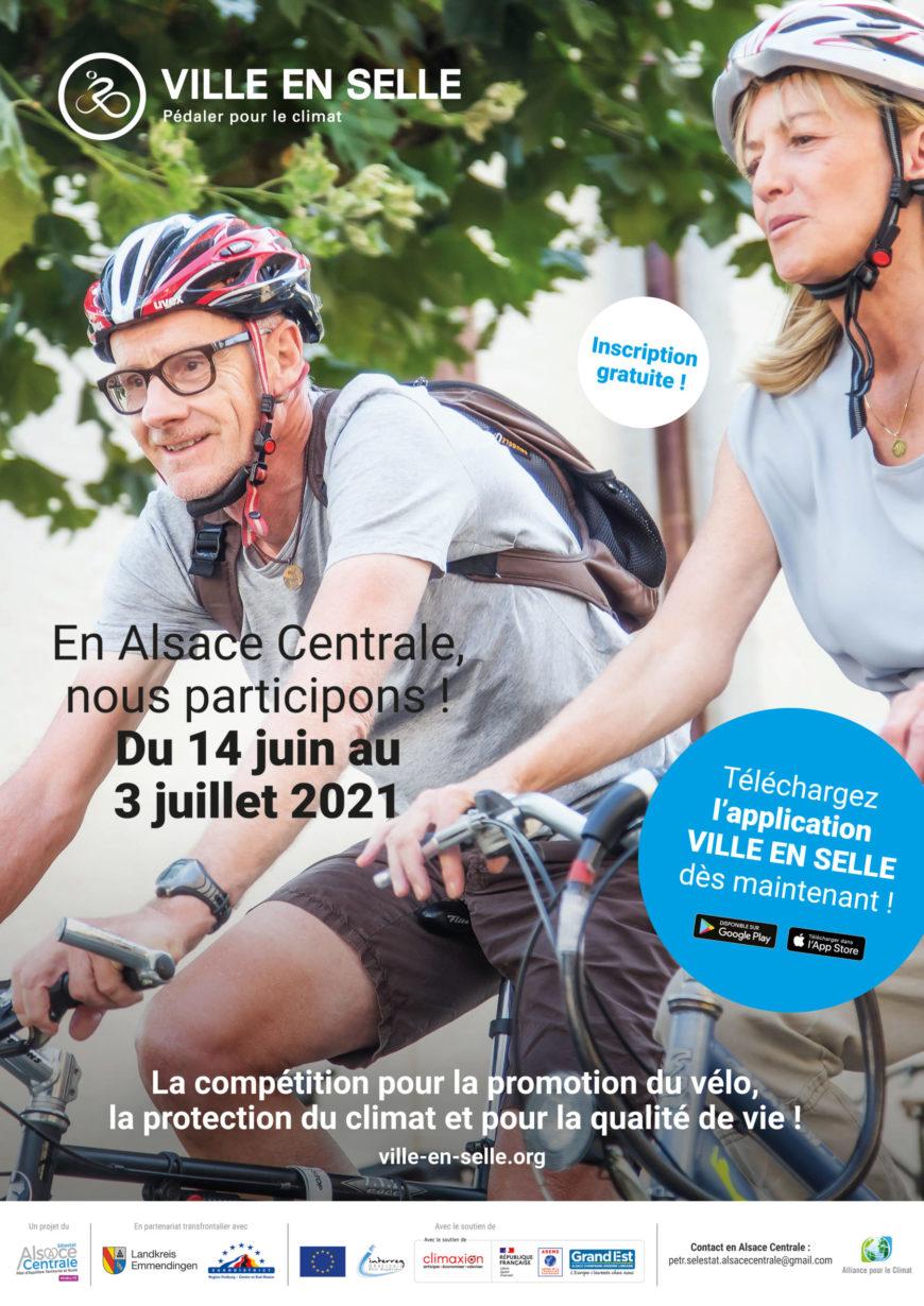 Challenge Ville en selle : pédalez pour le climat et votre Commune du 14 juin au 4 juillet !