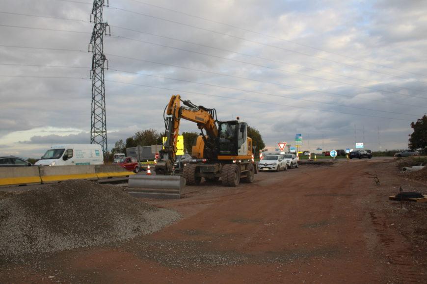 Travaux du contournement – modification de circulation