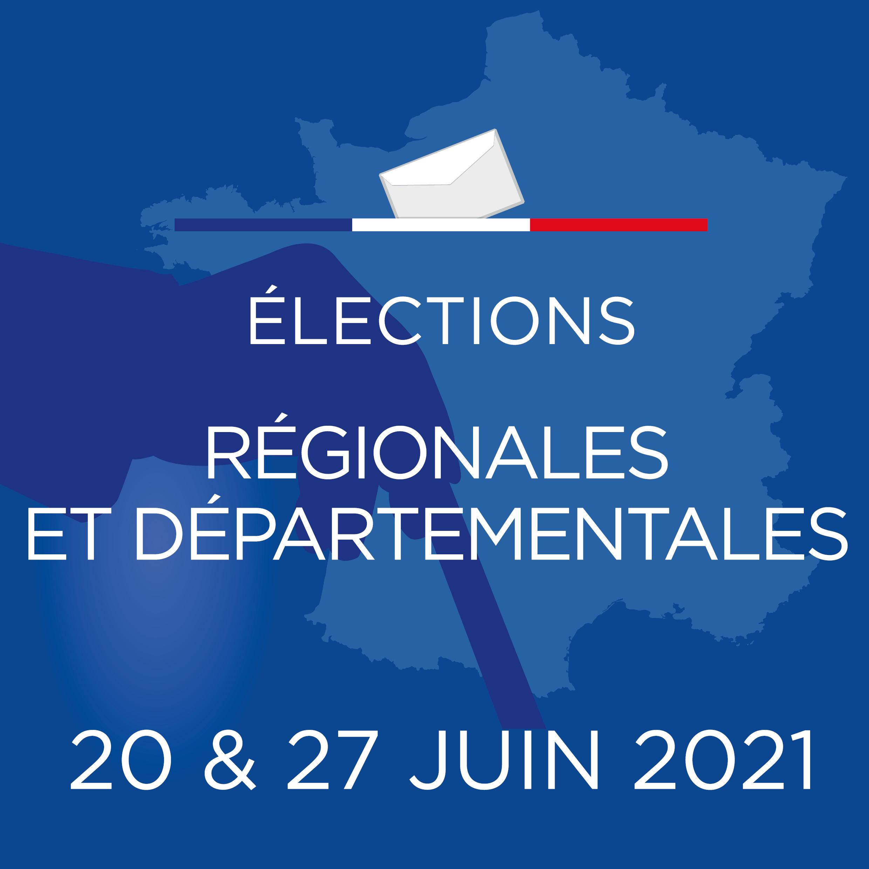 Elections DPT et REG 2021