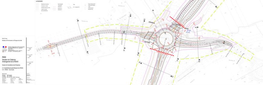 Travaux du contournement – aménagement de la RD424