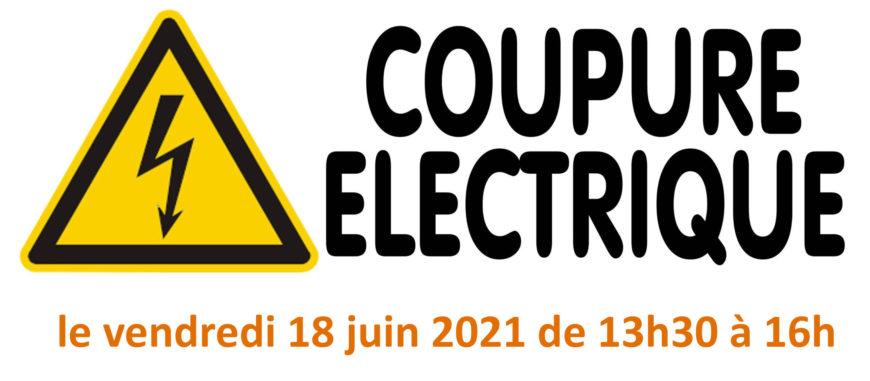 Travaux rue des Bains -> risque de coupures d'électricité