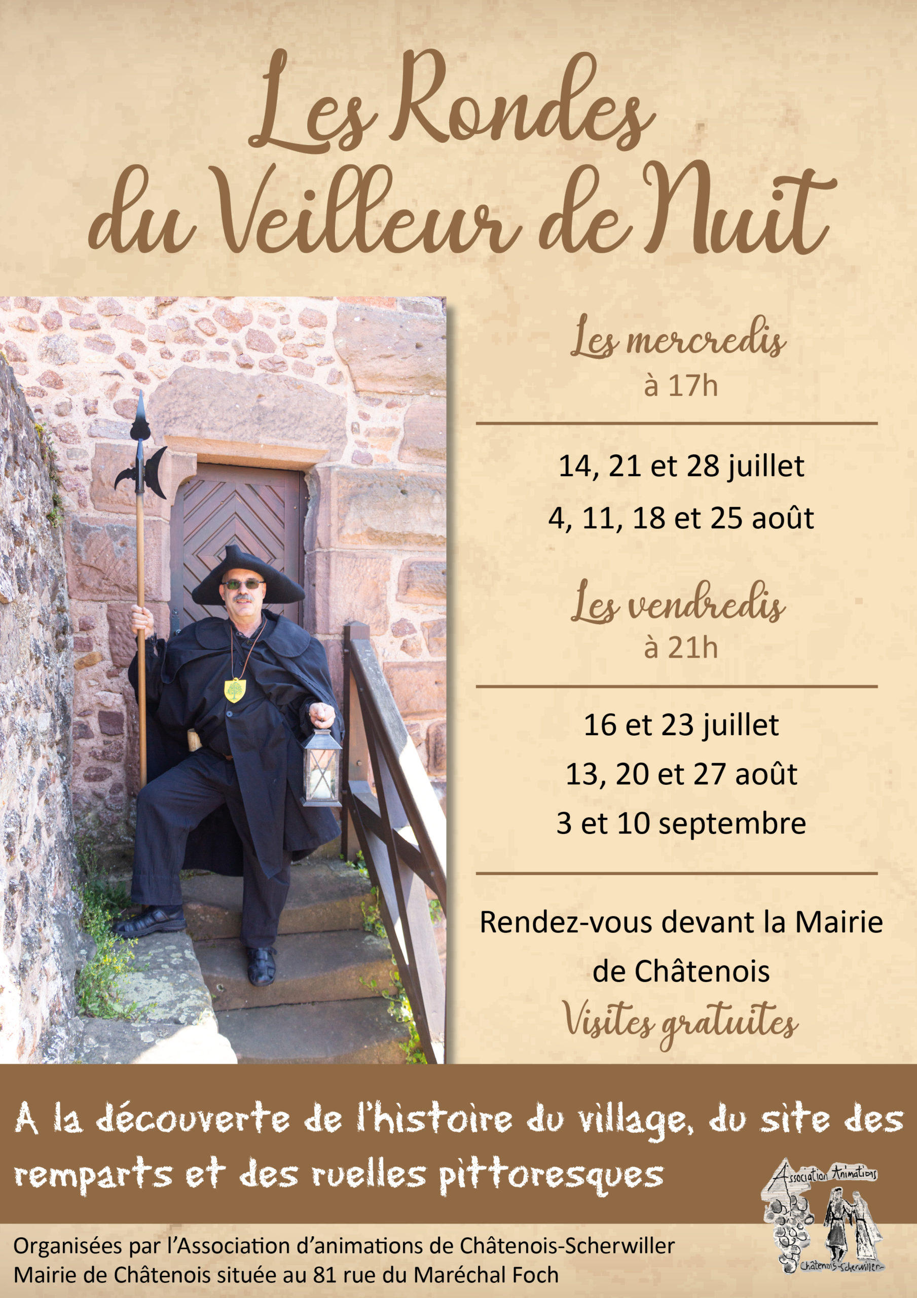 Affiche Ronde Veilleur de Nuit 2021 VF